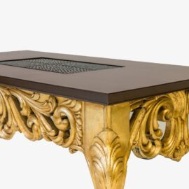 Antique Gold Center table